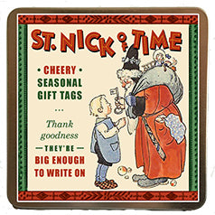 St. Nick of Time Gift Labels