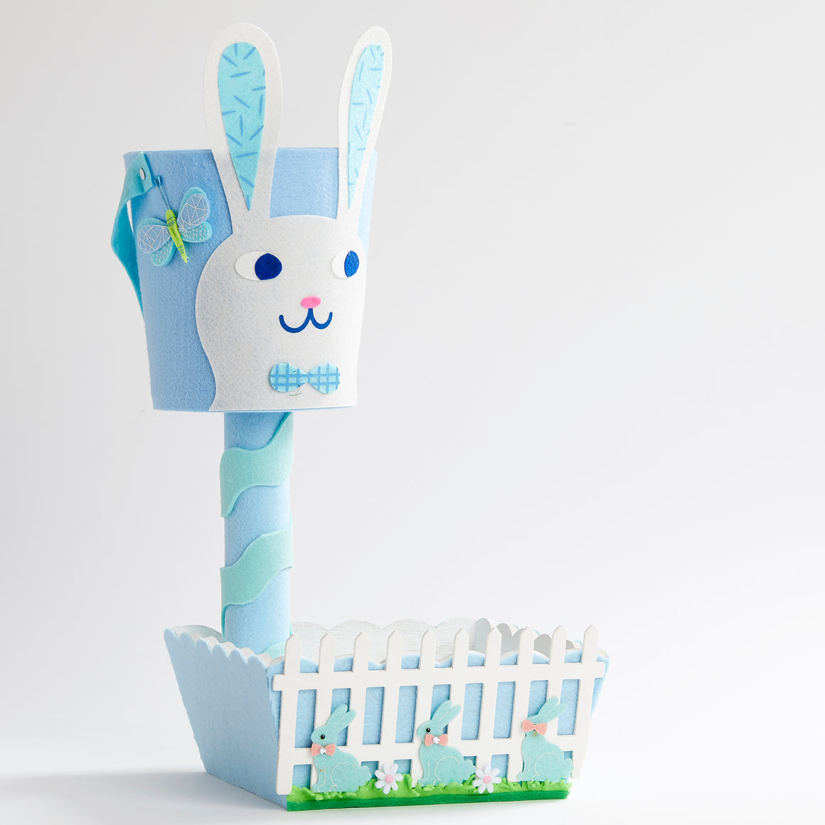 Bunny Bucket Tiered Box