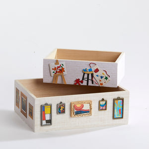 The Artist's Garret Keepsake Box