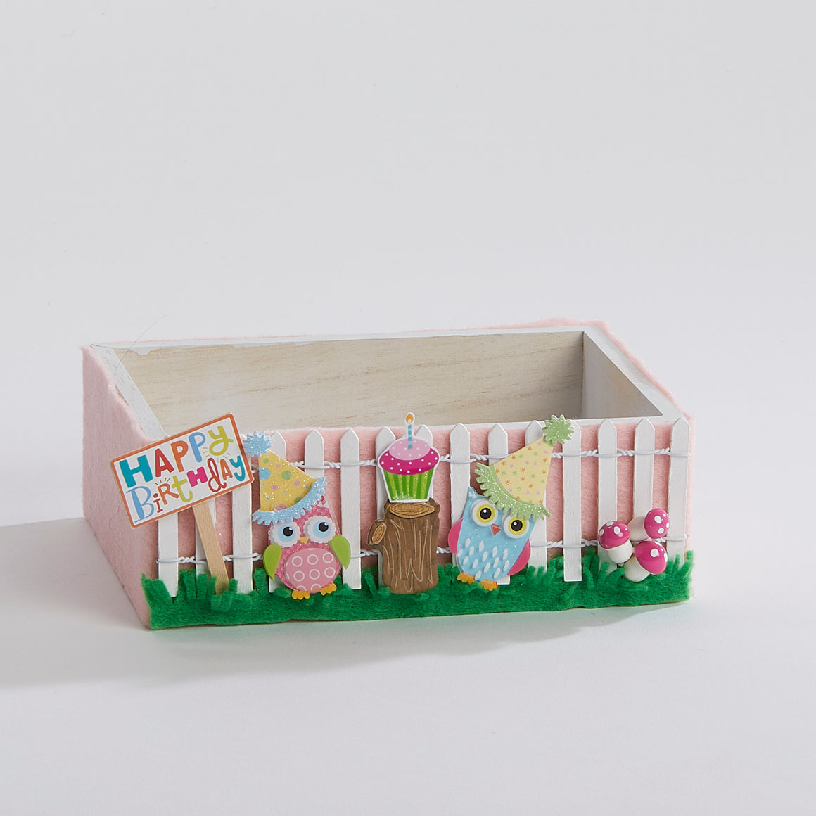 The Owl's Birthday Party Keepsake Box
