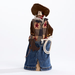 Hang 'em High Cowboy Ornament