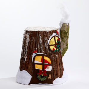 Gnome Home Tree Stump