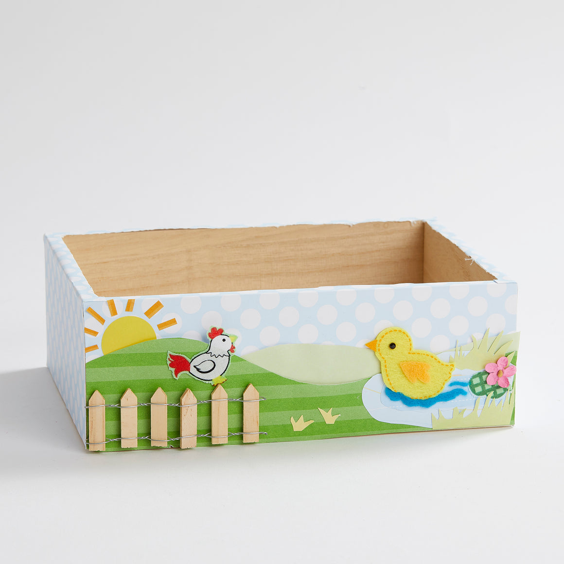 Good Morning Chickies Keepsake Box