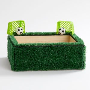 Soccer Field Keepsake Box