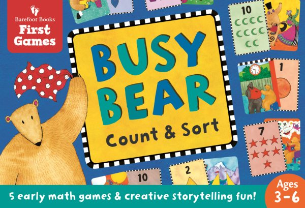 Busy Bear Count & Sort Matching Game