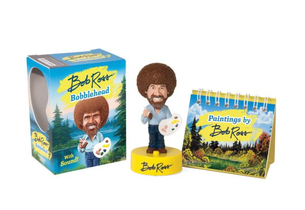 Bob Ross Bobblehead: With Sound!