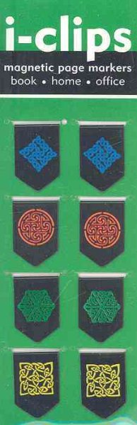 Celtic I-clip Magnetic Page Markers
