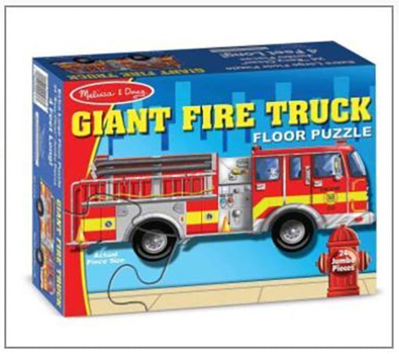 Fire Truck Giant Floor Puzzle