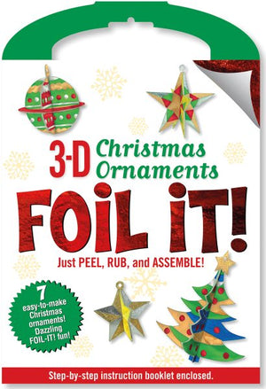 3-D Christmas Ornaments Foil It! Activity Kit