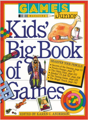 Kids' Big Book of Games