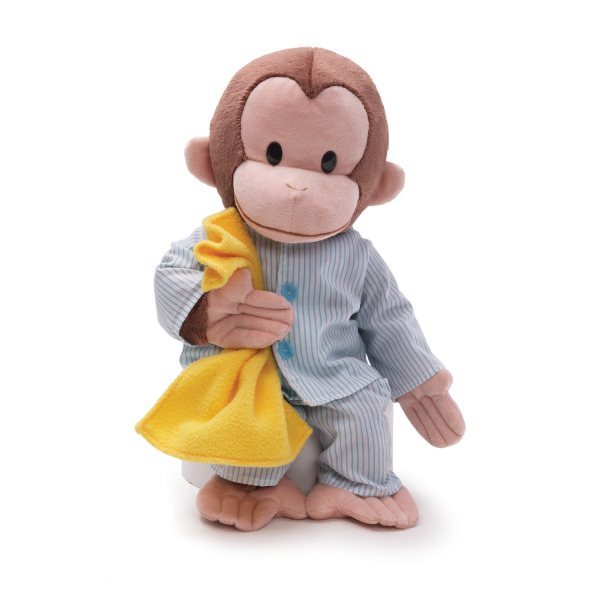 Curious George in his Pajamas
