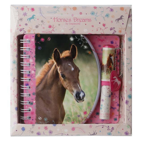 Horses Dreams | Notebook with Mini Ball Pen