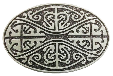 Patterned Belt Buckle