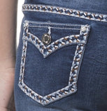 'Wild Child' Bonny- Bling Stretch Jeans - Outback Supply Co