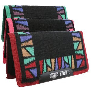 Fort Worth | Ride-Lite Saddle Pad Stainglass Pattern