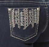 'Wild Child' Maya- Bling Stretch Jeans - Outback Supply Co