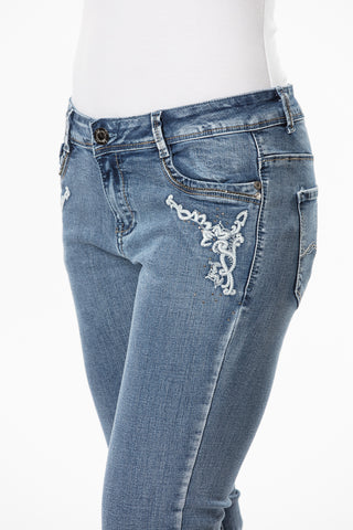 'Wild Child' Angel-2- Bling Stretch Jeans - Outback Supply Co