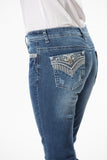 'Wild Child' Aurura- Bling Stretch Jeans - Outback Supply Co