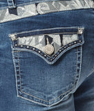 'Wild Child' Farleigh- Bling Stretch Jeans - Outback Supply Co