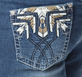 'Wild Child' Dakota- Bling Stretch Jeans - Outback Supply Co