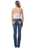 'Wild Child' Roxanne - Bling Stretch Jeans - Outback Supply Co