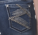 'Wild Child' Crista- Bling Stretch Jeans - Outback Supply Co