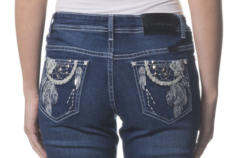 'Wild Child' Lexi- Bling Stretch Jeans - Outback Supply Co