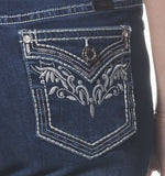 'Wild Child' Kimmi- Bling Stretch Jeans - Outback Supply Co