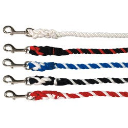 "Rancher | Poly Cotton Lead Rope 7'0""/2.13M Sml Snap"