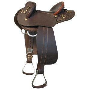Ord River | Leather Junior Half Breed Saddle