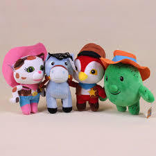Sherriff Callie's Wild West Plush Toys