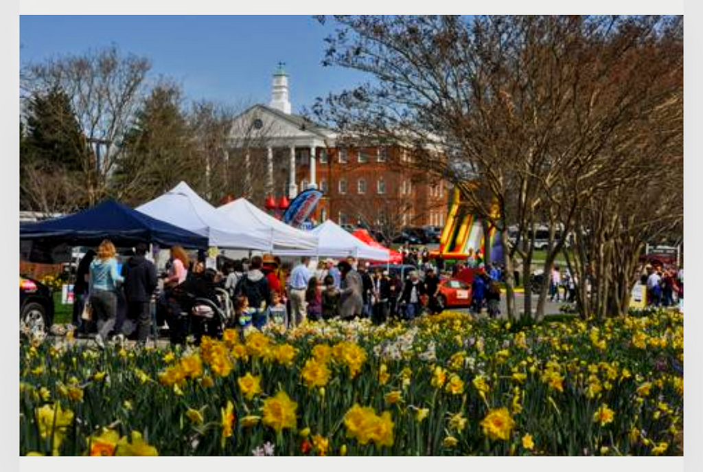 Village Blacksmith Announces Vendor Booth Availability for This Year's Daffodil Festival & Beer Garden