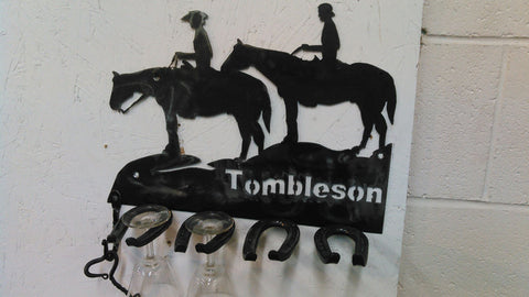 Horse Lovers Wine Rack