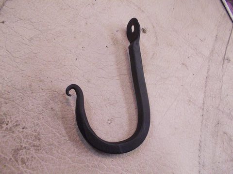 Hand Forged Plain Wall Hook -Small