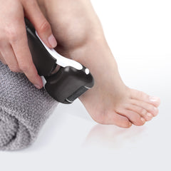 Premium Wet & Dry Electronic Foot File (Black)