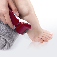 Premium Wet & Dry Electronic Foot File (Red)