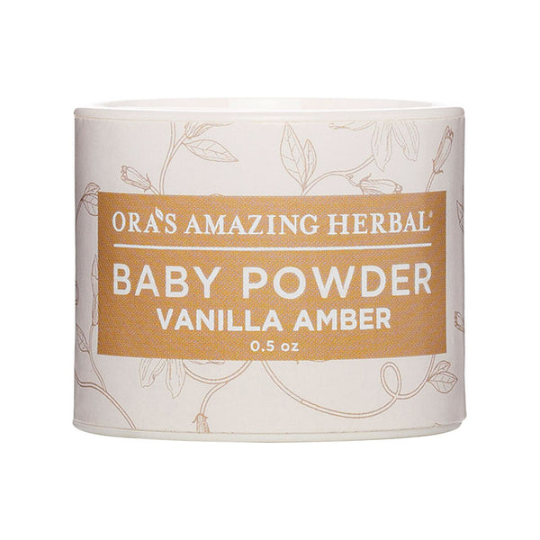 Ora's Amazing Herbal - Vanilla Amber MINI Baby Powder