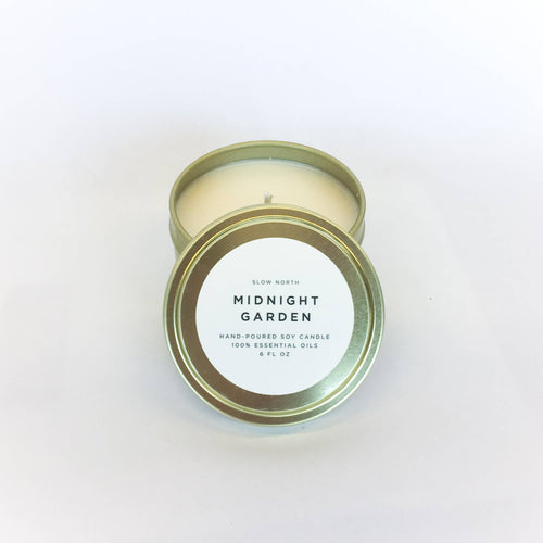 Midnight Garden Travel Candle