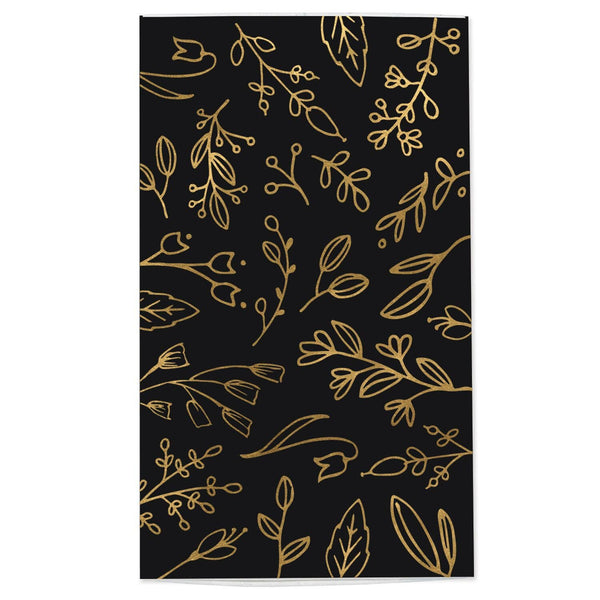 Large Match Box: Black & Gold - Blume Market