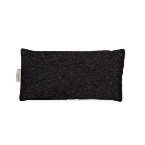 Flaxseed & Lavender Eye Pillow- Charcoal Wool
