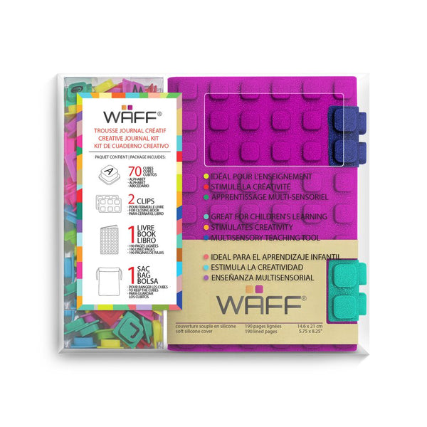 Waff World Gifts Inc - Fuschia - Waff Combo Medium Glitter - Blume Market