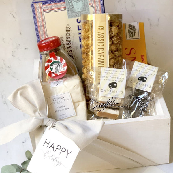 White Christmas Gift Box