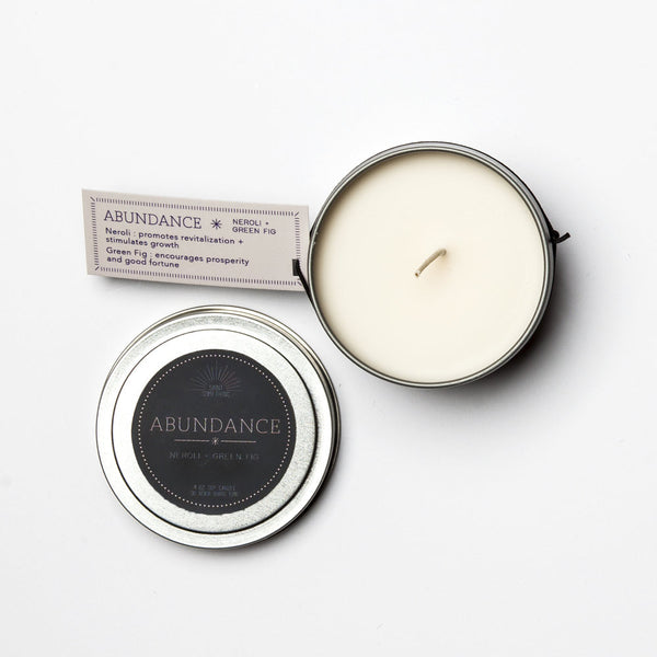 Travel Tin Candles - ABUNDANCE - Blume Market