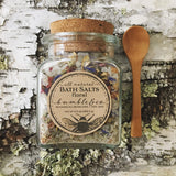 All Natural Pink Himalayan Floral Bath Salts