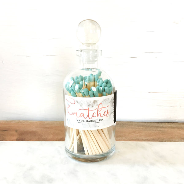 Made Market Co. - Modern Apothecary Matches - Teal - Blume Market