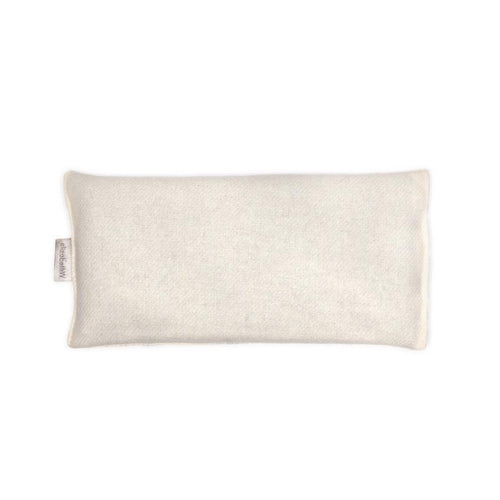 Flaxseed & Lavender Eye Pillow - Cream Wool