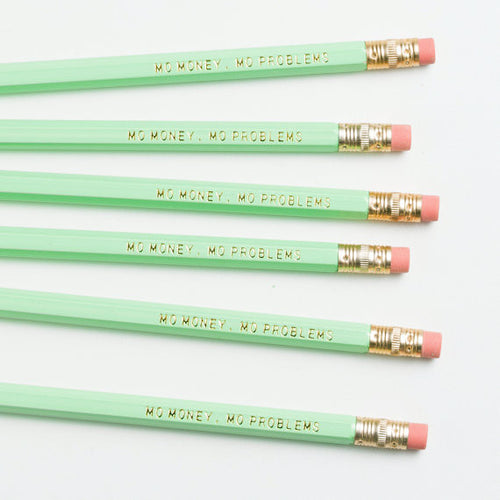 Say it With No. 2 Pencils: Four Sayings Available - Pk of 4