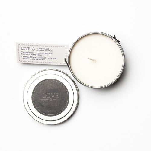 Travel Tin Candles - LOVE