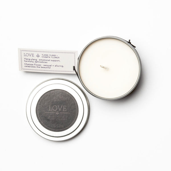 Travel Tin Candles - LOVE - Blume Market
