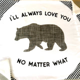 Mama Bear Love You No Matter What Kid's Blanket - Blume Market